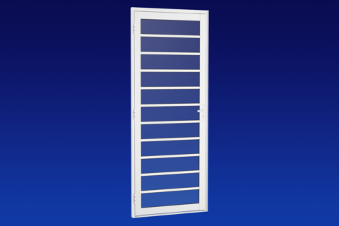 MIC Alumic - Porta Para Vidro Com Divisão-Horizontal