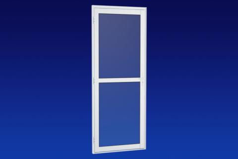 MIC Alumic - Porta Para Vidro Com Divisão Central