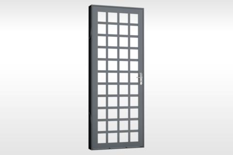 MIC Extra - Porta Para Vidro Quadriculada