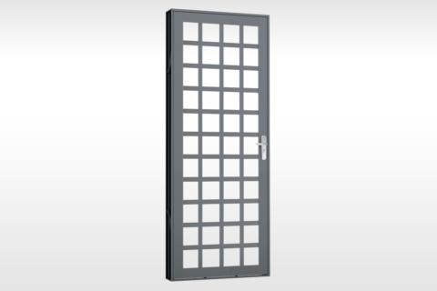 MIC Fort - Porta Para Vidro Quadriculada