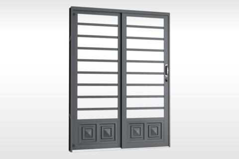 MIC Fort - Porta de Correr 160 - Para Vidro Com 1 Almofada
