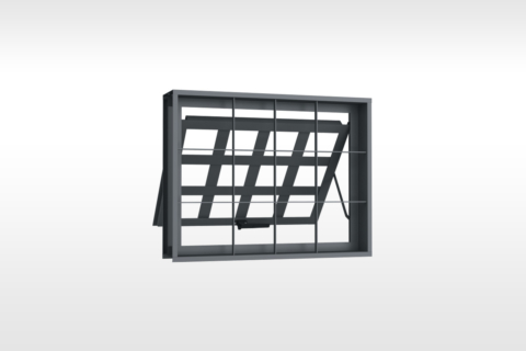 MIC Fort - Vitrô Max-Ar Grade Quadriculada 80x60