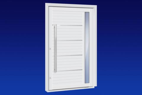 MIC Alumic - Porta Pivotante com Visor