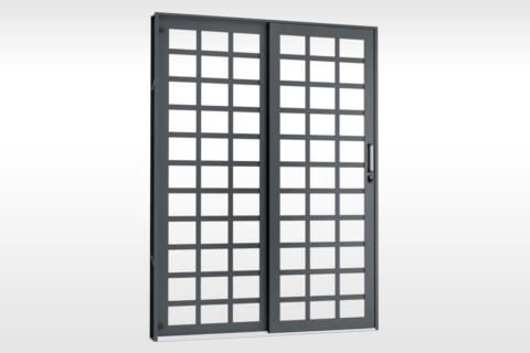 MIC Extra - Porta de Correr 160 - Para Vidro Quadriculada