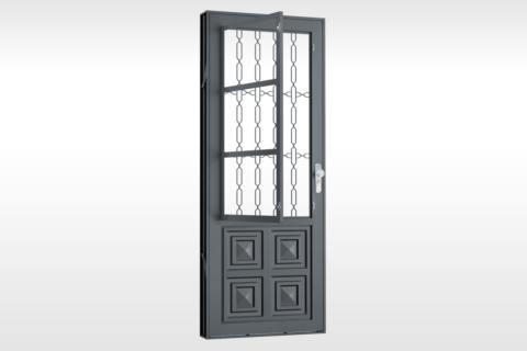 MIC Fort - Porta Com Postigo 2 Almofadas Grade Elo