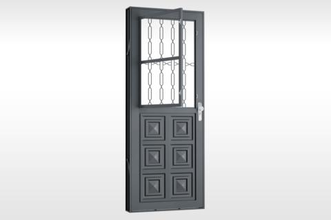 MIC Fort - Porta Com Postigo 3 Almofadas Grade Elo