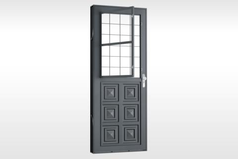 MIC Fort - Porta Com Postigo 3 Almofadas Grade Quadriculada