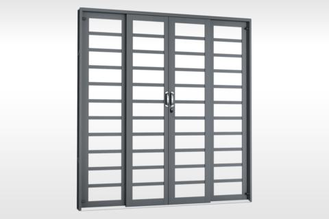 MIC Fort - Porta de Correr 200 - Para Vidro