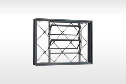 MIC Fort - Vitrô Basculante Grade Xadrez 80x60
