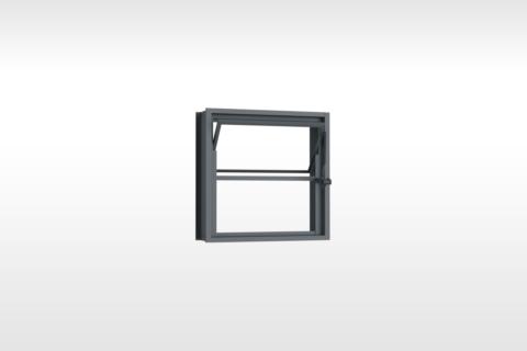 MIC Fort - Vitrô Basculante Sem Grade 40x40