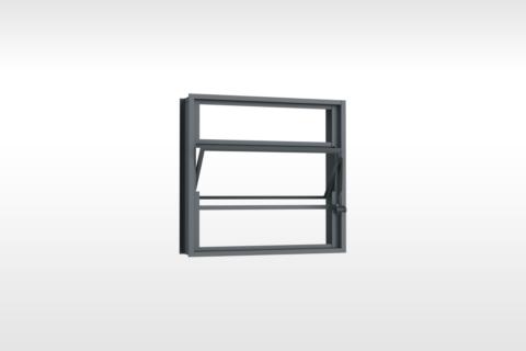 MIC Fort - Vitrô Basculante Sem Grade 50x50