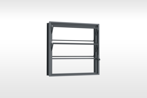 MIC Fort - Vitrô Basculante Sem Grade 60x60