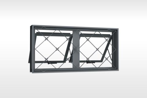 MIC Fort - Vitrô Max-Ar Grade Xadrez 100x50